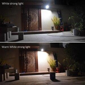 Image 5 - Nâng Cấp 66 Đèn LED Năng Lượng Mặt Trời Ngoài Trời Chống Nước Chiếu Sáng Cho Sân Vườn Tường Hai Góc Rotable Cực Đèn Năng Lượng Mặt Trời Với 3 Chế Độ