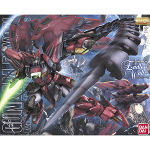 Image 2 - BANDAI MG 1/100 nowy mobilny raport Gundam skrzydło OZ 13MS Gundam epion EW figurka zabawka do montażu dla dzieci prezent
