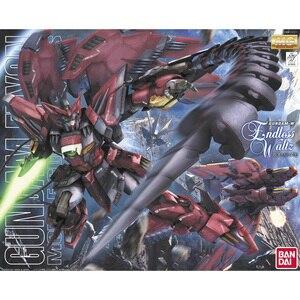 Image 2 - BANDAI figura de acción ensamblada de Gundam Wing para niños, juguete ensamblado de OZ 13MS, Gundam Epyon EW, 1/100