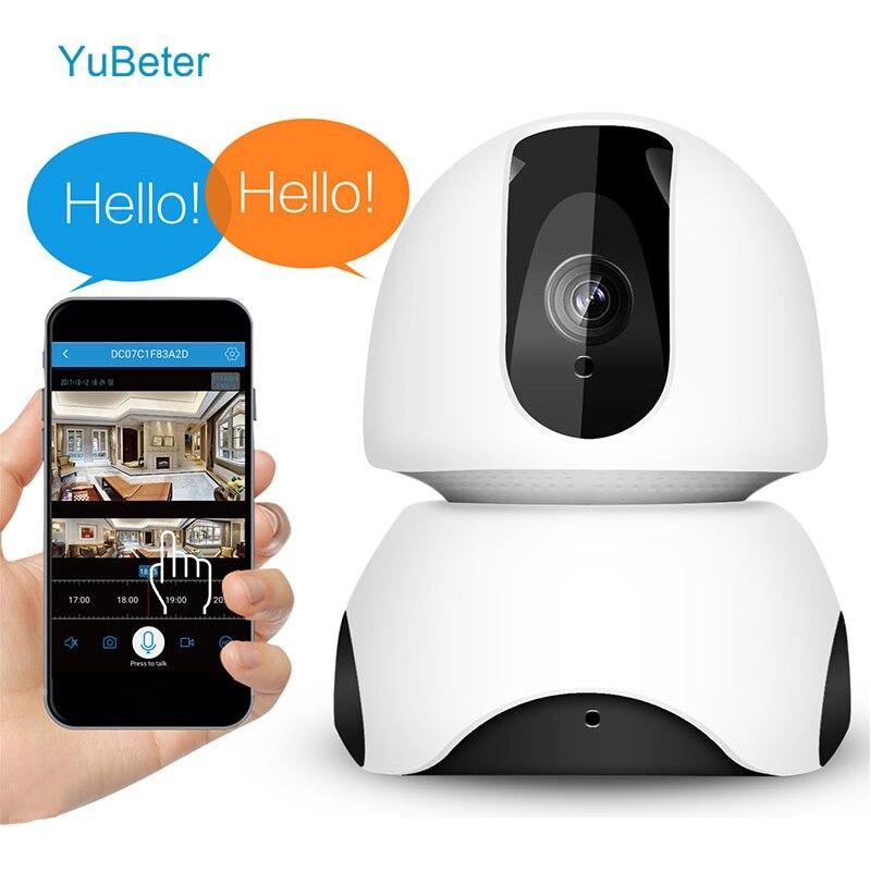 YuBeter 1080P Wireless wifi Mini Security Cameras IP Cameras CCTV HD office Surveillance Two Way Audio