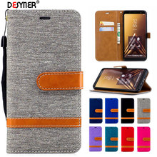 For Samsung galaxy A6 2018 Case Leather Flip Wallet Back Case For Samsung galaxy A6 2018 Plus Stand Capa Cover Phone case цена