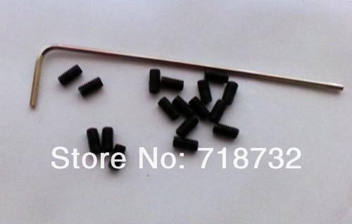 Купить с кэшбэком 20-GT3-6 6.35mm bore timing belt pulleys 2pcs