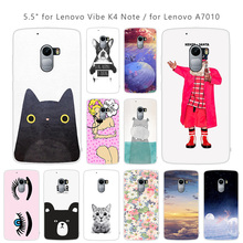 for Lenovo Vibe K4 Note K 4 Case Cartoon Cover for Lenovo Vibe K4 Note A7010/Vibe Soft TPU Slim Silicon 5.5 inch Phone Coque