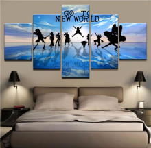 One Piece 5 Pcs Wall Canvas (24 Models)