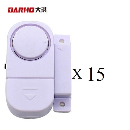 DARHO Wireless Home Security Alarm Systems Door/Window entry alarm  Safety Security Guardian Protector Pack of15 pcs multiscale modeling of developmental systems 81