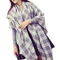 Winter Women Scarf Imitation cashmere Scarfs Pastoral Knitted Cloak Fashion Scarf Wraps Scarf Women Hijab Soft Warm Fringe