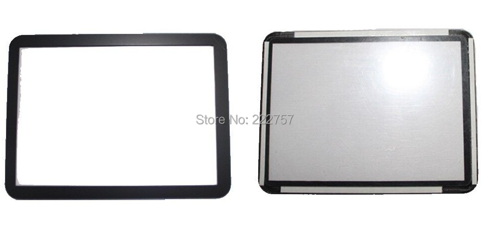 For Canon FOR EOS 7D Outer LCD Screen Display Window Glass Replacement repair parts NEW