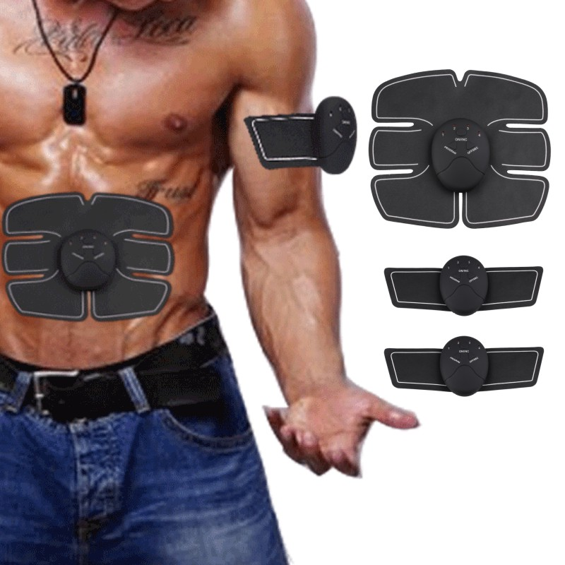 Smart EMS Electric Pulse Treatment Massager Abdominal Muscle Trainer Wireless Sports Muscle Stimulator Fitness Massage 20 prostate patches prostatitis treatment and prevention perineum muscle stimulator