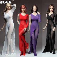1/6 Womens Long Skirt Dress Set Sexy one-piece lace dress For 12 Female large bust PH Dol  Figure Body Accessories