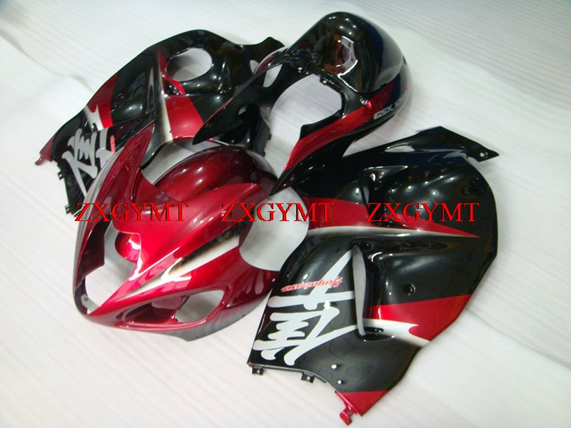 Body Kits for GSXR 1300 1997 - 2007 Fairings GSX R1300 2003 Red Black Silvery Fairing Kits GSX R1300 2001Body Kits for GSXR 1300 1997 - 2007 Fairings GSX R1300 2003 Red Black Silvery Fairing Kits GSX R1300 2001