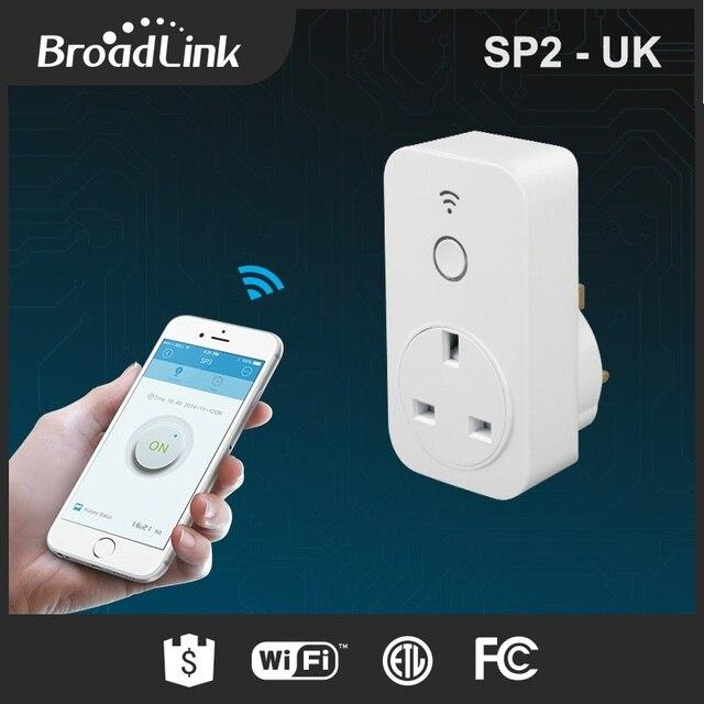 Original Broadlink SP2 13A Timer UK Standard Smart Home Wifi Socket ...