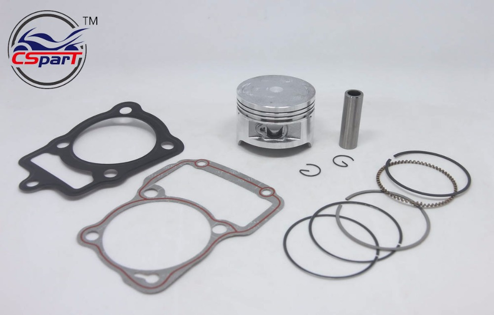 63.5MM 15MM Piston Kit Ring Gasket For Honda CG200 <font><b>200CC</b></font> air cooled Shineray ZongShen <font><b>Lifan</b></font> Taotao ATV Quad Kaya Xmotos Pit bike image