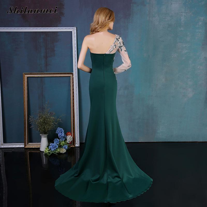 Eveing Femelle Parti Étage 3xl Blue Off La Profonde Femme white One Vintage 2018 Longueur Sirène Sexy Épaule V green Élégant Plus Taille 4xl Robe Robes Kc1TlFJ