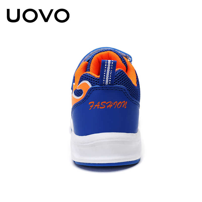 d4bd841a1 ... UOVO 2019 Kids Running Shoes For Boys Fashion Breathable Sport Sneakers  Boys School Shoes Spring Big ...