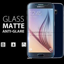 For Samsung Galaxy Note 4 5 Premium Matte Tempered Glass Screen Protector For Samsung Galaxy S4 S5 S6 S7 No Fingerprint