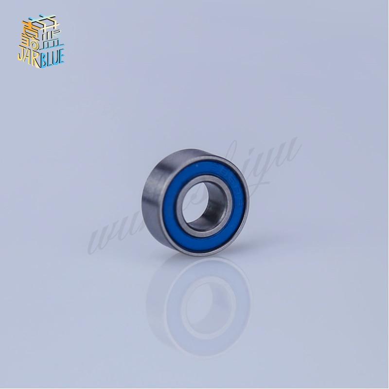 10 шт. 6X12X4 синий резиновые подшипники MR126 2RS ABEC3 модельные подшипники, jarblue