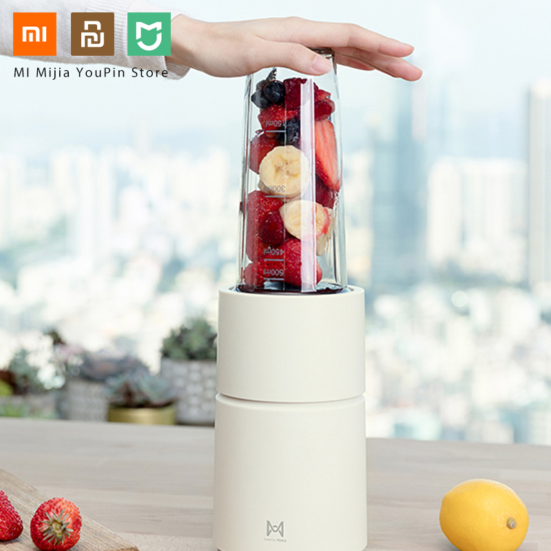 Xiaomi Mijia Pinlo Little Monster Electric Juicer Fruit Vegetable Cooking Machine Household Travel Juicer DIY drinks