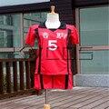 Haikyuu! Nekoma High School No.5 Kenma Kozume Cosplay Costume Volleyball Team Jersey Sports Wear Uniform Free Shipping