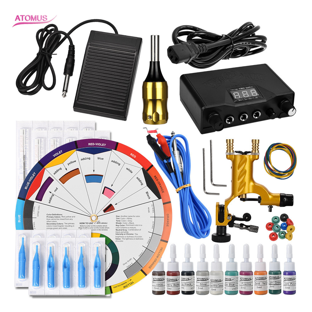 Tattoo Machine Rotary Kits Equipamento Tatuagem Tatto Tatoo Tatouage Professionnel Insumos Para Tatuajes Machine Tatoo Kit ToolsTattoo Machine Rotary Kits Equipamento Tatuagem Tatto Tatoo Tatouage Professionnel Insumos Para Tatuajes Machine Tatoo Kit Tools