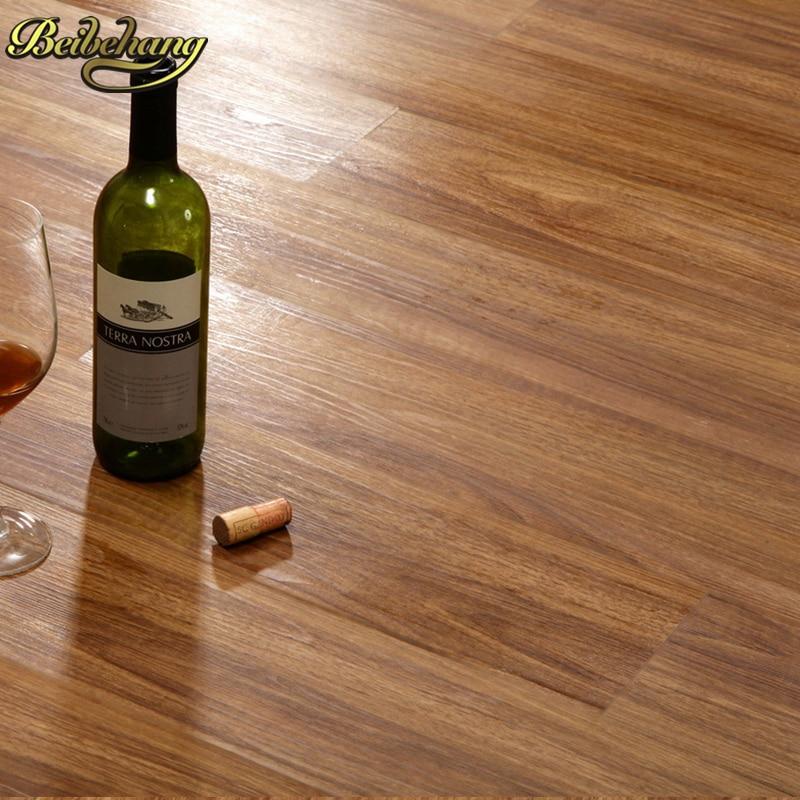 beibehang PVC floor wallpaper leather self adhesive home thicker resistant waterproof Shisu floor paper plastic floor plastic
