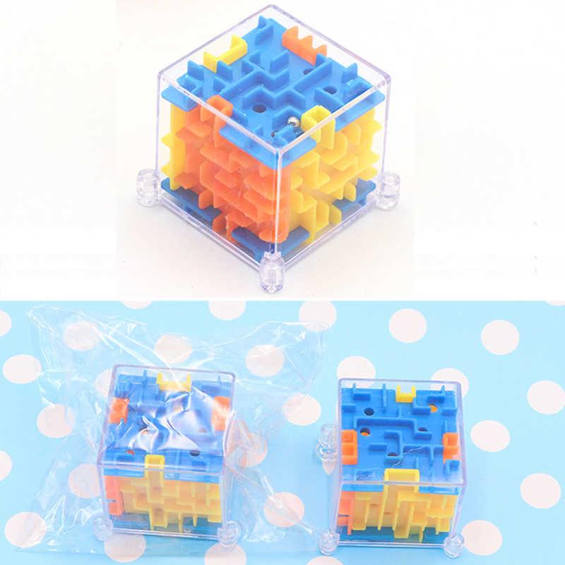 Мини-скоростной 3D кубический лабиринт, профессиональные магические головоломки, нео-куб, вращающийся шар, игрушки для детей, образовательные Подарки-головоломки