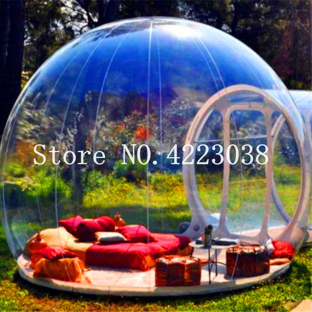 fdebbd8febc Free Shipping Outdoor Tunnel Backyard Transparent Air Dome Tent ...
