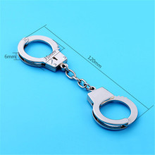 Car Handcuffs Shape Metal Key Chains