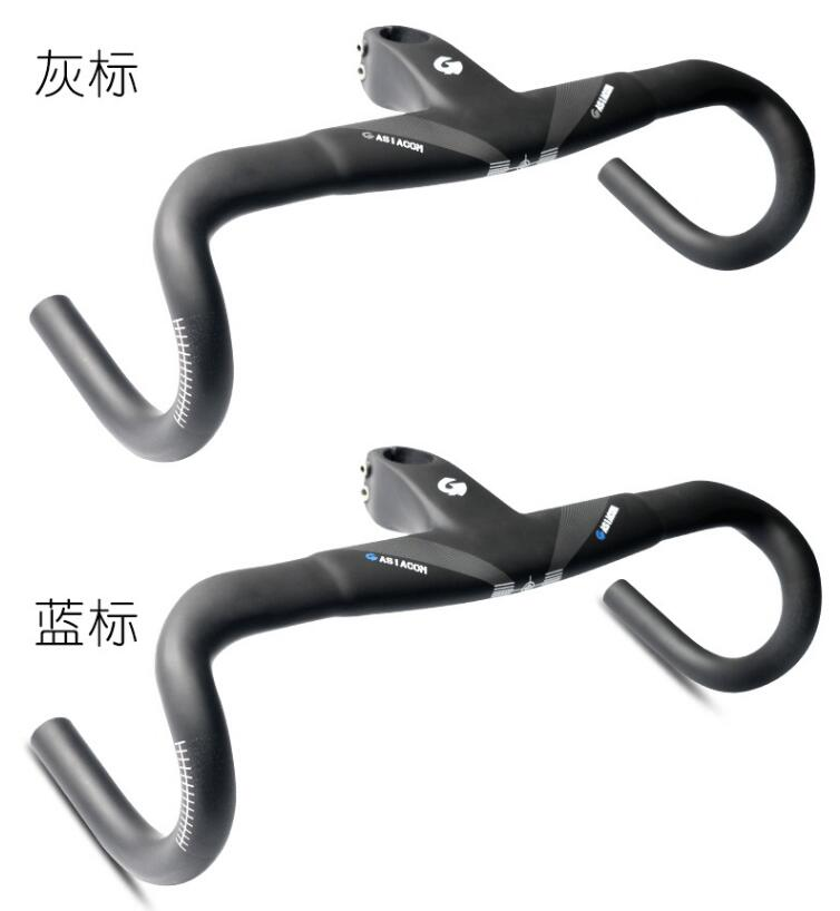 Toseek UD Carbon Road Bike Handlebar Racing Aero Handlebar Drop Bar 31.8*400-440