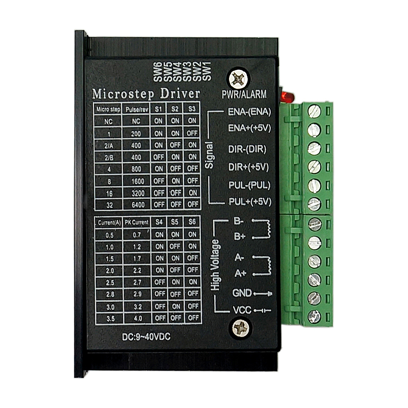 42/57/86 TB6600 Wood Router Machine Stepper Motor Driver 32 Segments Upgraded Version 4.0A 42VDC Cnc Engraving Machine Kits
