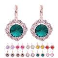 Crystal Stud Pendientes Para Las Mujeres Brincos Grandes Pendientes de diamantes de Imitación Para Las Niñas
