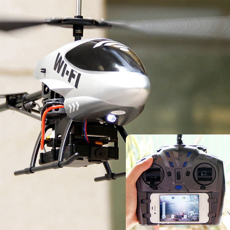 Brand Newly Smart Quadcopter Air Drone Electric Rc Helicopter Support Mobile Phone Screen 24G Remote Control Flying Drones In RC Helicopters From Toys