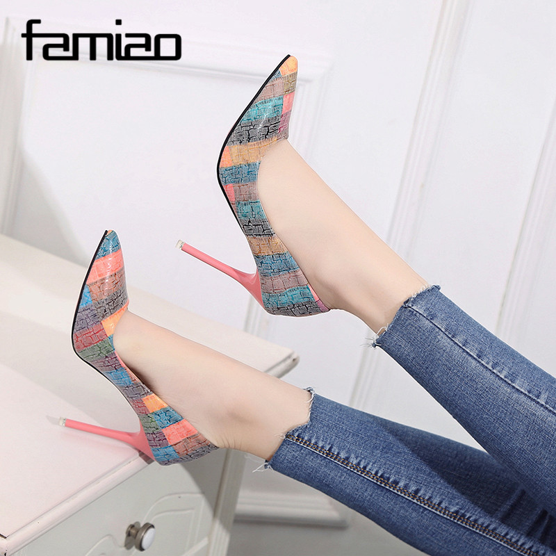 Detail Feedback Questions about FAMIAO tacones altos mujer sexy 2018 ... 74afaca1d0c3