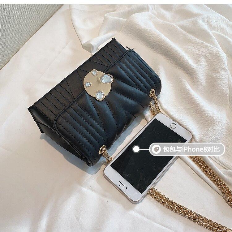 newest fashion bags bag women chain shoulder crossbody bag women's handbags (8)