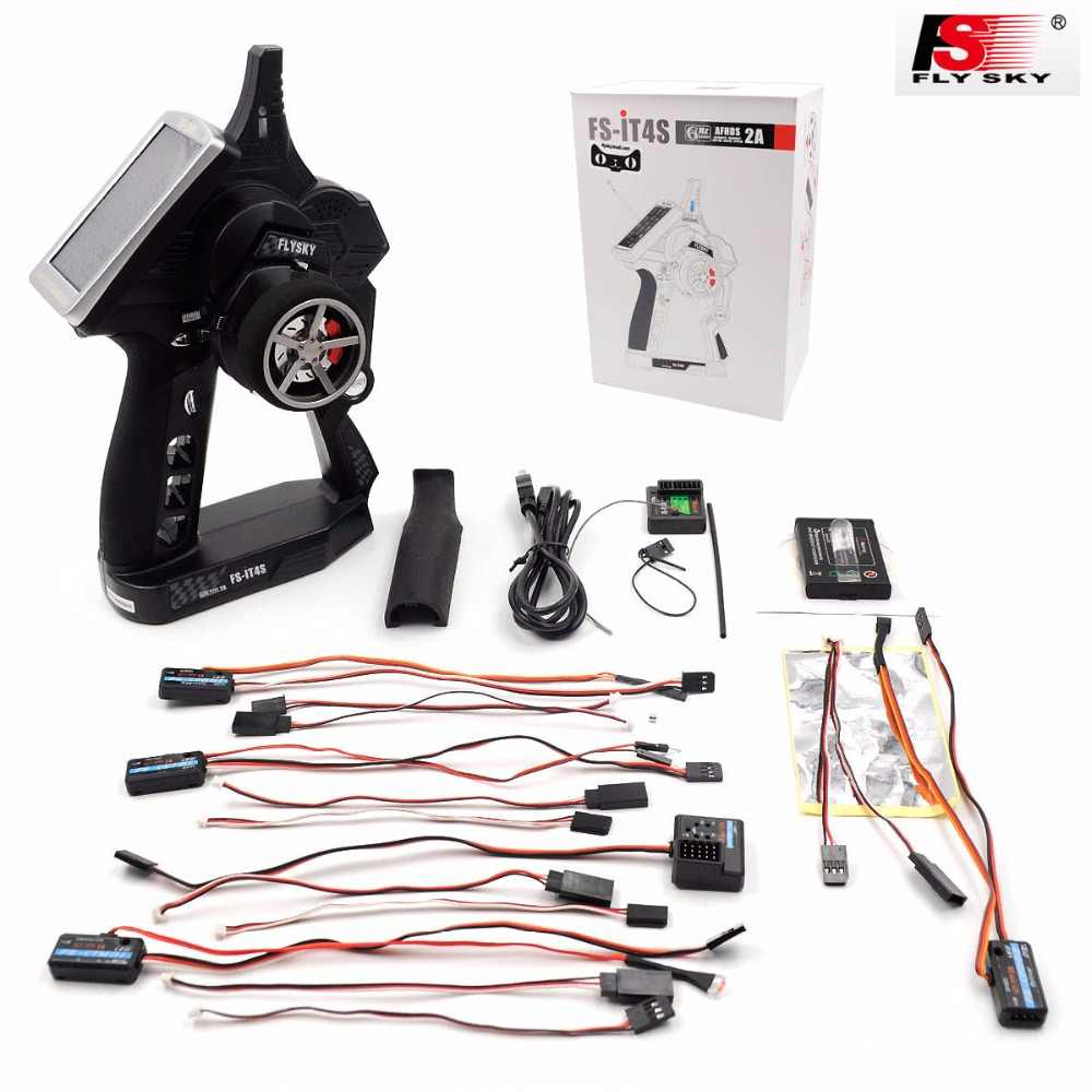 93031d482c9 Flysky FS-iT4S 2.4GHz 4CH 2Gun AFHDS RC Radio System Transmitter Controller  with Touch