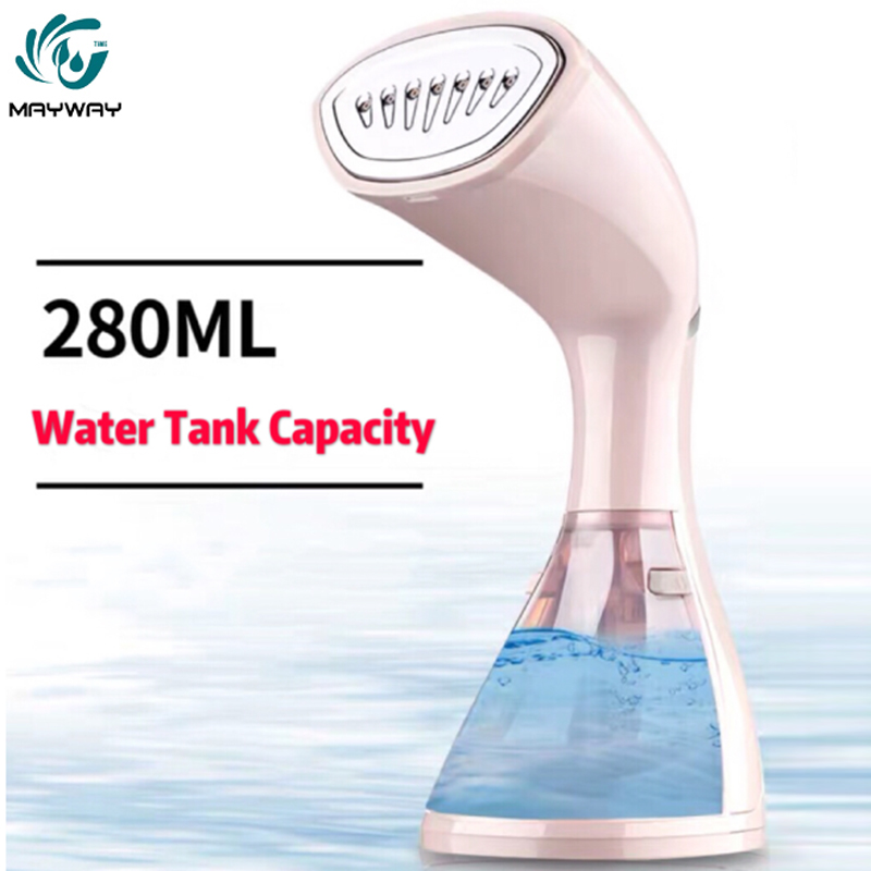 280ML Garment Steamer Household Appliances Vertical Steamer with Steam Irons Brushes Iron for Ironing Clothes for Home Travel