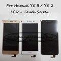 Para huawei y5 ii cun-l01/huawei y5ii cun-l23 cun-l03 cun-l33 lcd display + touch screen reemplazo digitalizador asamblea