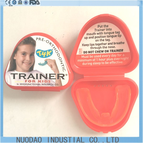 1 pcs Dental T4K Orthodontic Teeth Trainer Appliance Orthodontic Teeth Trainer For Kids 1 pc dental orthodontic study model transparent teeth malocclusion orthodontic model with colorful brackets
