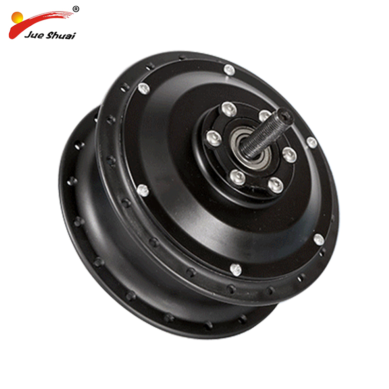 Free Shipping 48V 36V 500W Electric Wheel Motor Bicycle Hub Motor Black e bike Rear Gear Drive engine Front Electric Bike Motor