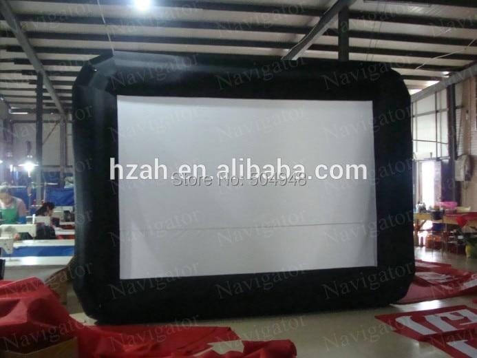 Indoor Inflatable Cinema Screen/Inflatable Projection Screen