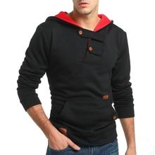 Brand 2018 Hoodie Simple Hit Color Hoodies Men Fashion Tracksuit Male Sweatshirt Hoody Mens Purpose Tour