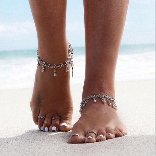 Bracelet de cheville pendant