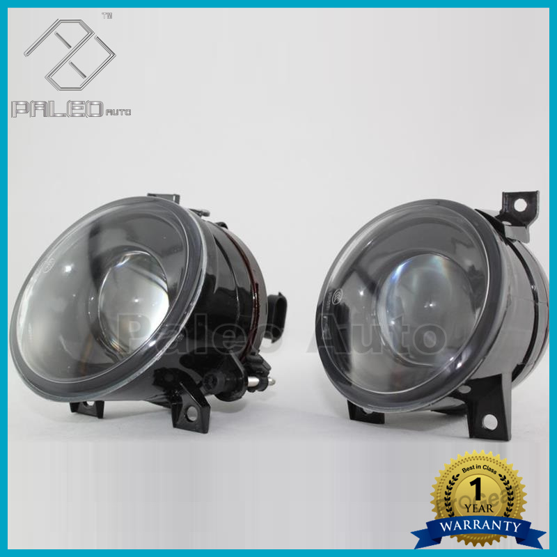 ФОТО Free Shipping For VW Golf 5 MK5 GTI 2004 2005 2006 2007 2008 2009 Pair Of New Fog Lamps Fog Lights With Convex Lens