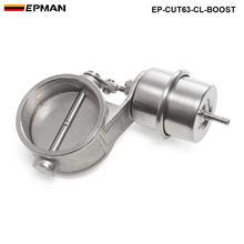Boost активированный Выпускной вырез/дампа 63 мм закрытый стиль давление: около 1 бар для BMW e46 EP-CUT63-CL-BOOST