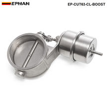 NEW Boost Activated Exhaust Cutout / Dump 63MM CLOSED Style Pressure: about 1 BAR For BMW e46 EP-CUT63-CL-BOOST