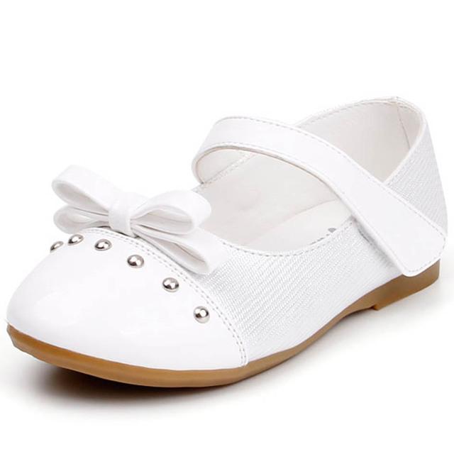 2017 primavera crianças pequenas meninas shoes com rebites com tira no tornozelo meninas do bebê da princesa shoes crianças party girl shoes