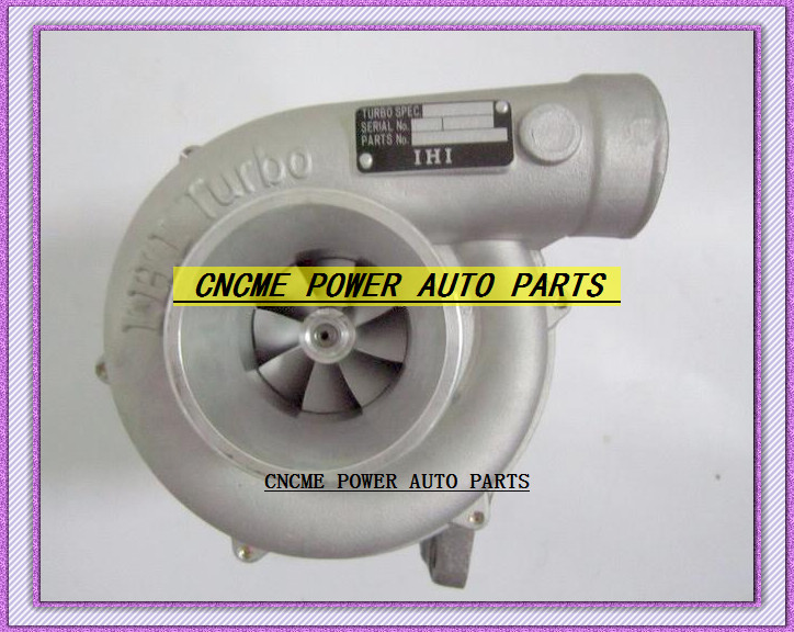 TURBO RHG6 1144003770 114400-3770 CICZ VB570031 CICZ Turbocharger For HITACHI ZAXIS 200 210 225 230 ZAX200 EXCAVATOR 6BG1T 6BG1TC (1)