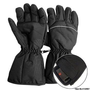 Eldiven elektrik pili Isıtmalı Eldiven Spor Sıcaklık Kontrolü Şarj Edilebilir Motosiklet Avcılık Kış Isıtıcı 828 Promosyon