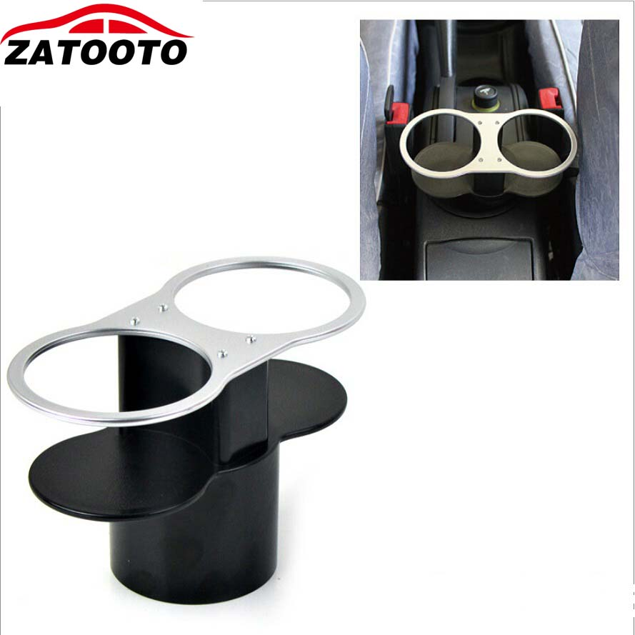 Car Drink Holder Double Holes Car Mount Cup Bottle Holders Organizer Auto Supplies Car Accessories