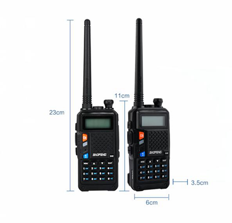 Baofeng R9 walkie talkie dual band 136-174mhz 400-520mhz 2800mAh battery 128CH USB directly charger two way radio