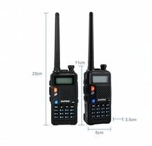 Baofeng UVT2 R9 ווקי טוקי dual band 136 174mhz 400 520mhz 2800mAh סוללה 128CH USB ישירות מטען שתי דרך רדיו
